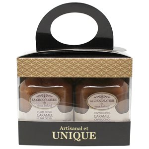 Duo cadeau de caramel - La Chocolaterie du Vieux Beloeil 2 x 212ml