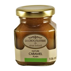 Caramel nature - La Chocolaterie du Vieux Beloeil 106ml