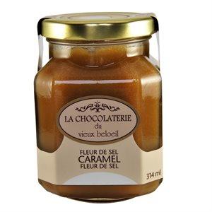 Caramel à la fleur de sel - La Chocolaterie du Vieux Beloeil 314ml