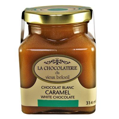 Caramel au chocolat blanc - La Chocolaterie du Vieux Beloeil 314ml