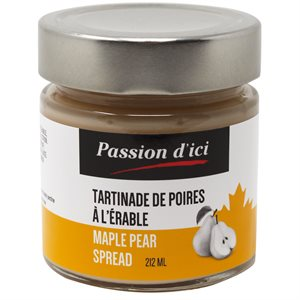 Passion d'ici - Maple Pear Spread 212ml