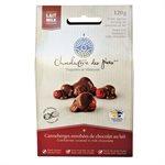 Canneberges enrobées de chocolat au lait - Chocolaterie des Pères Trappistes 120g