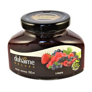 Tartinade Deluxe 5 fruits - Duhaime Gourmet 150ml