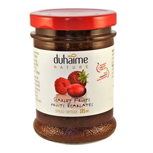 Tartinade 100% fruits rouges - Duhaime Gourmet 200ml