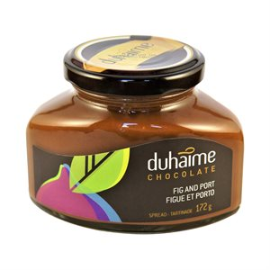 Tartinade chocolat, figues & Porto - Duhaime Gourmet 172ml