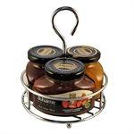 Trio tartinades Deluxe avec alcool Duhaime Gourmet 3x150ml