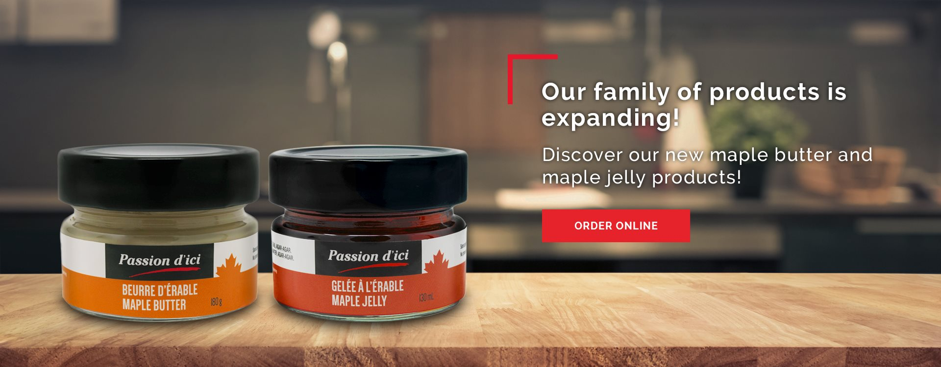 New maple products