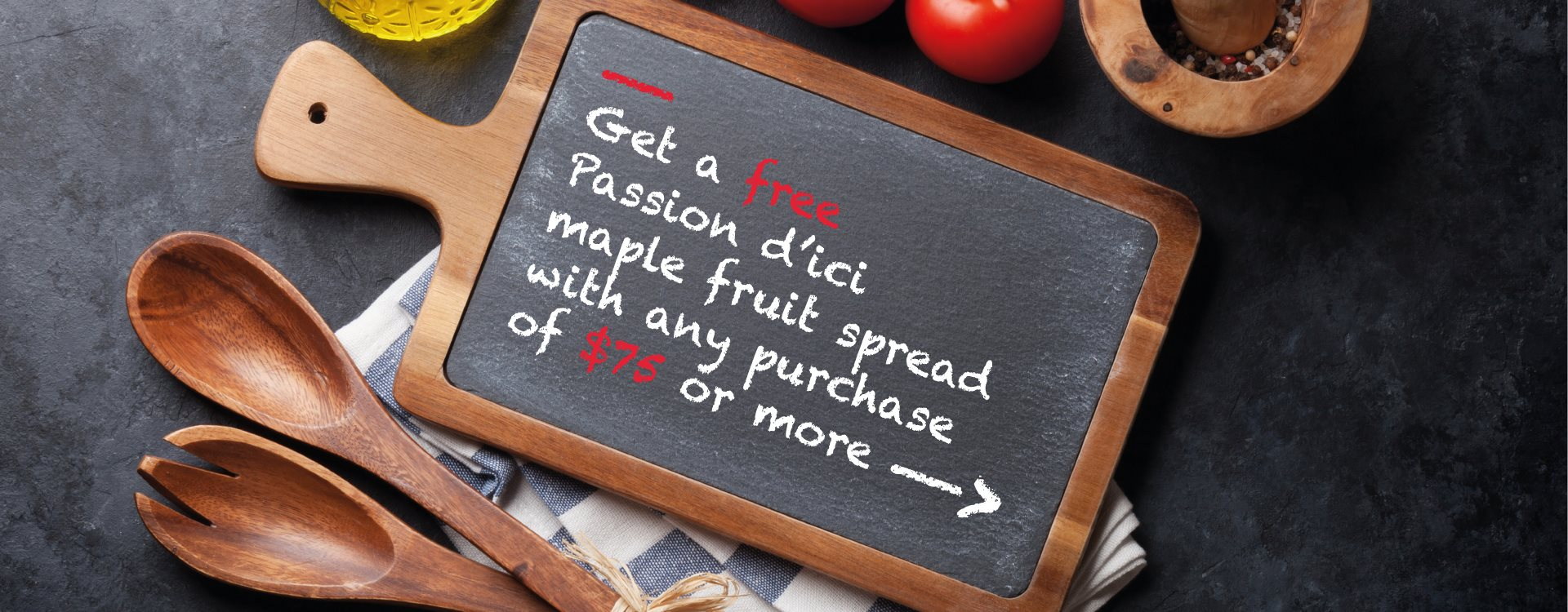 Free maple spread